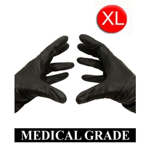 1000/Case Disposable Powder-Free Black Nitrile Medical Exam Gloves (Latex Free) Size-XLarge 5 Mil (Black Latex Gloves 1000 compare prices)