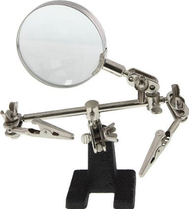 GGI MAG-G Helping Hand Tool With Magnifying Glass - 1