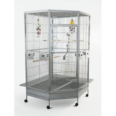 Liberta UK Raleigh Hex Parrot Cage, Large