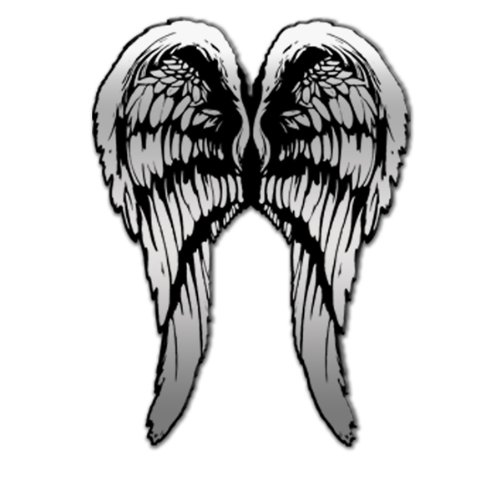 Hot Leathers Wings Pewter Biker Pin