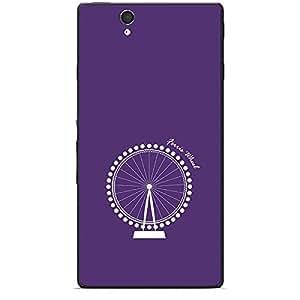 Skin4gadgets Iconic Wonder Ferris Wheel Colour - Purple Phone Skin for XPERIA Z (L36h)
