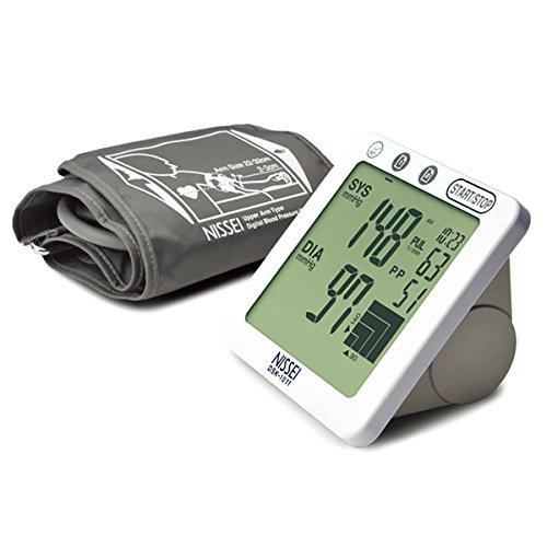 Nissei Japan DSK-1011 Digital Arm-type Blood Pressure Monitor for Family use (Nissei Blood Pressure Monitor compare prices)