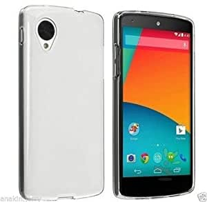Plus Perfect Fitting High Quality Ultra Thin Transparent Silicon Back Cover for LG Nexus 5