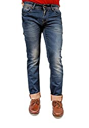Evanzo Men's Slim Jeans (CZ3CA98C6CA_Blue_30W x 32L)