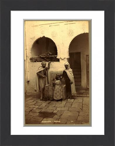 framed-print-of-constantine-moors-algiers-neurdein-brothers-1860-1890-the-neurdein