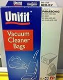 UNIFIT VACUUM BAGS TO SUIT PANASONIC MC-E881-MCE-886 / MC-E959 / MC-E960-MCE-989 / MC-E1000-MCE-1099