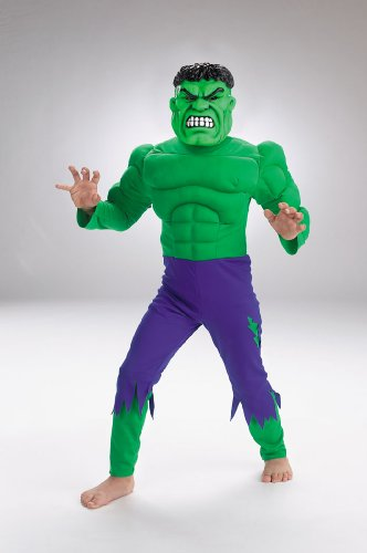 Hulk Child Deluxe Muscle 7 8 Costume