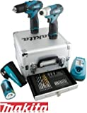 Kit Trapano Avvitatore Lampada 10,8V Litio Limited Edition Makita – LCT303X1