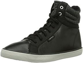 Esprit Sonia Bootie, Baskets mode femme - Noir (001 Black), 39 EU