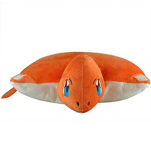 Katara 1750 Pokémon Go puscheliges ratina per cuscino peluche/peluche con come regalo idea feuriges di Charmander, XXL, 40 cm, colore: rosso