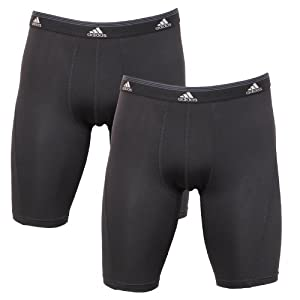 Adidas Mens Sport Performance Climalite Midway Underwear (Pack of 2) by adidas