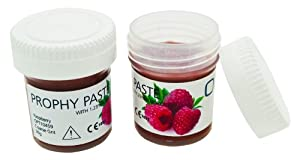 Raspberry Flavored Coarse Grit Prophy 30g, Prophylaxis Teeth Polishing Cleaning Stain Removal Paste