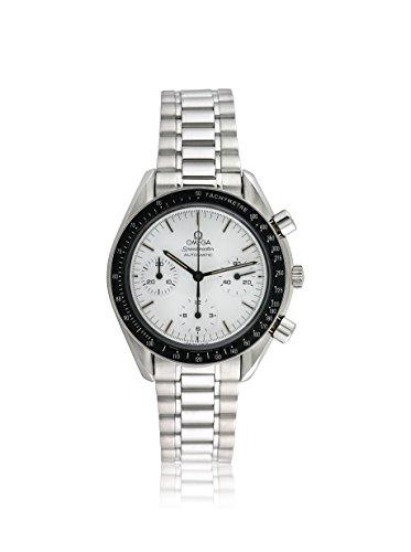 Omega Men's Pre-Owned Speedmaster White/Stainless Steel Watch