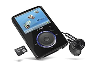SanDisk Sansa Fuze 8 GB Video MP3 Player (Black)
