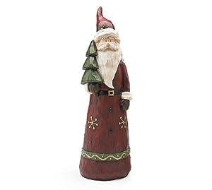 Father Time Santa Christmas Figurine Statue