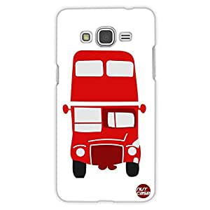 Designer Samsung Galaxy Grand Prime back Cover Nutcase - Red Bus