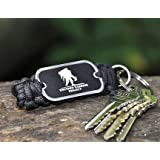Paracord Key Chain Wounded Warrior Project Edition