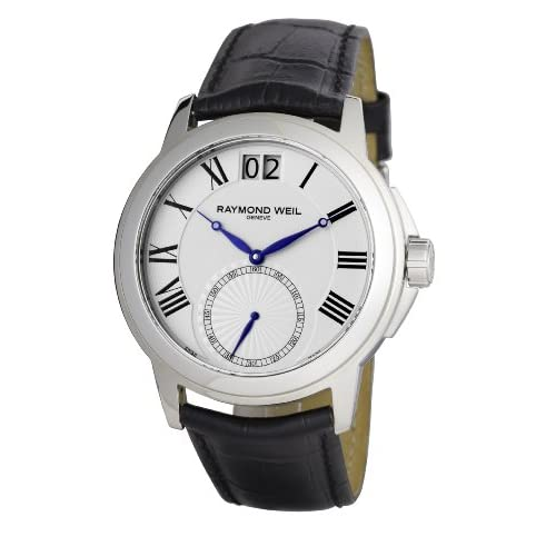 Buy 10 Leather Strap Raymond Weil Mens Watches