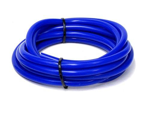 HPS HTSVH8-BLUE Blue 1' Length High Temperature Silicone Vacuum Tubing Hose (40 psi Maxium Pressure, 5/16