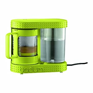 Bodum Bistro Electric Coffee and Tea Dripper, Lime Green, 4-Cup