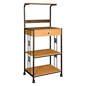 home source microwave cart amazon co uk kitchen amp home kitchen islands amp carts on sale wood amp metal mobile