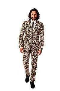 Opposuits UK 36/ EU 46 The Jag Leopard Suit Size Fancy Dress/ Costume