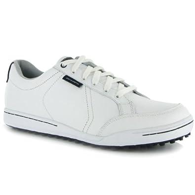 Mens Ashworth Cardiff Golf Shoes G54237 White White Dark Marine by Ashworth