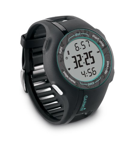 Garmin Forerunner 210 With Heart Rate Monitor (Teal) front-859057