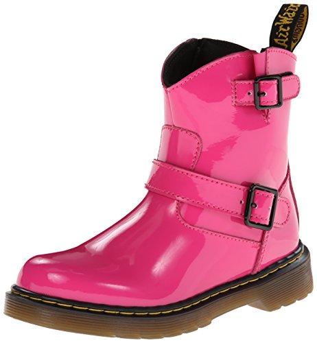 Dr. Martens Lydia Boot (Toddler/Little Kid),Hot Pink,Us 11/Uk 10 front-491292