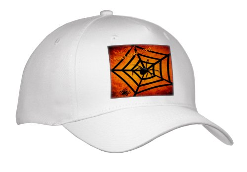 Susan Brown Designs Halloween Holiday Themes - Spiders on Halloween - Caps
