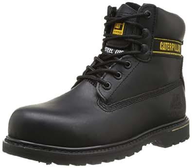 Caterpillar Holton, Chaussures de sécurité homme - Noir (Black), 40 EU