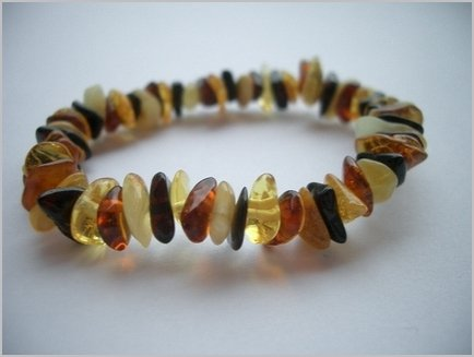 Baltic Amber Baby Teething Bracelet – Muti Colored