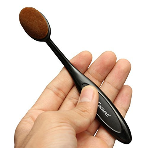 KingMas® Oval Makeup Brush Cosmetic Foundation Cream Powder Blush Makeup Tool