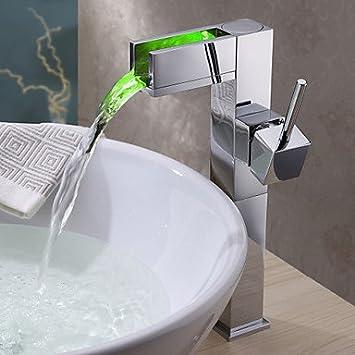 Salle de bain /évier robinet en toile Design Moderne avec finition chrom/ée robinet