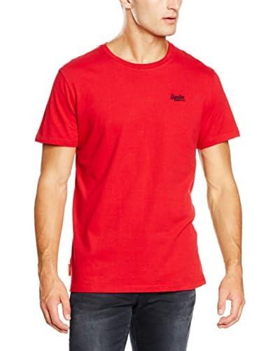 Superdry T-Shirt Orange Label Vintage Emroidery marine