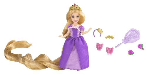 Buy Low Price Mattel Disney Tangled Featuring Rapunzel Hair Play Doll Figure (B003OUVUDO)