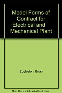 Model Forms of Contract for Electrical and Mechanical