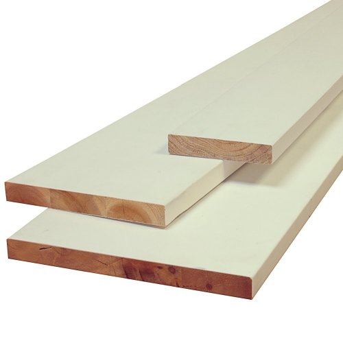 Nucasa UL1X2P-S S4S 1-Inch by 2 Lumber Sample, Primed Ultralite, .6875-Inch by 1.5-Inch by 6-Inch