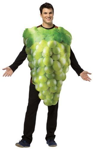 Rasta Imposta Get Real Green Grapes Costume for Adults