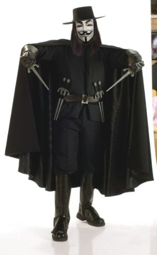 V for Vendetta Grand Heritage Collection Adult Costume (X-Large)