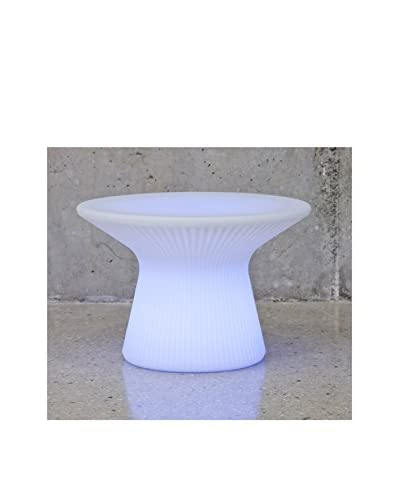 Artkalia Saint-Tropez XS LED Wireless Table, White Opaque