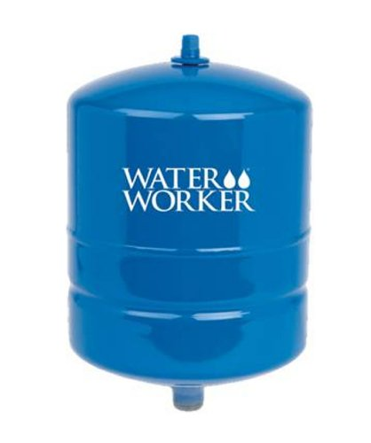 WaterWorker HT-2B In-Line Pressure Well Tank, 2-Gallon Capacity, Blue (2 Gal Pressure Tank compare prices)