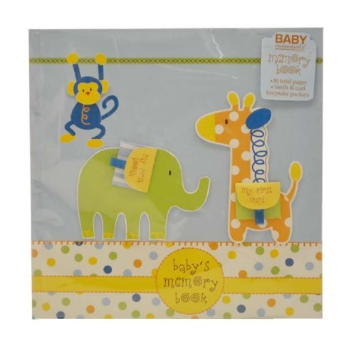 Baby Essentials Jungle Memory Book