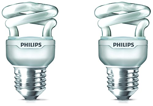 Tornado-E27-5-Watt-CFL-Bulb-(Cool-Day-Light,-Pack-of-2)-