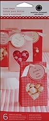 Bulk Buy: Martha Stewart Mini Treat Bags 6/Pkg-Valentine-Paper (3-Pack)