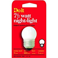 GE Private Label 18329 71/2S/W/CD-DIB 7-1/2W Night-Light Bulb