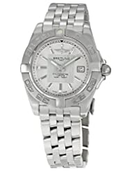 Bargain!! Breitling Women's BTA71356L2-G702SS Galactic 32 Silver Dial Watch