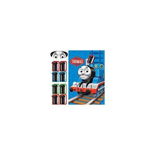 """Amscan Fun Thomas The Tank Birthday Party Game, 11.6 x 9"""", Multi"""