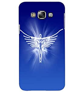 SAMSUNG GALAXY E7 ANGEL Back Cover by PRINTSWAG
