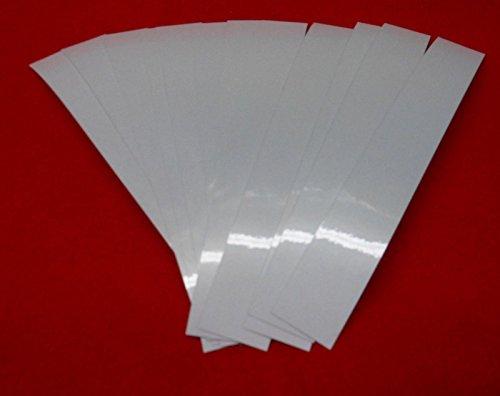 Pathfinder Carbon Arrow Wraps 7″ Reflective White Pkg/12